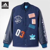 Adidas正規品★Men's Originals★LOGO VARSITY JACKET