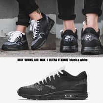 NIKE★WMNS AIR MAX 1 ULTRA FLYKNIT★23~26cm★黒&白