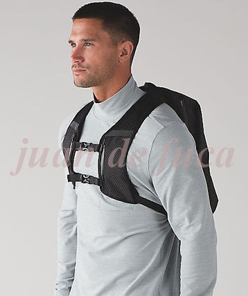 lululemon バックパック・リュック 【LULULEMON】Surge Run Backpack REFLECTIVE☆saint j t black(4)