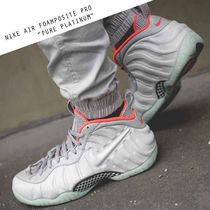 NIKE AIR FOAMPOSITE PRO PRM PURE PLATINUM  プラチナ グレー