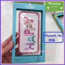 【kate spade】'HAPPY'バルーン♪ iPhone6/6s case★