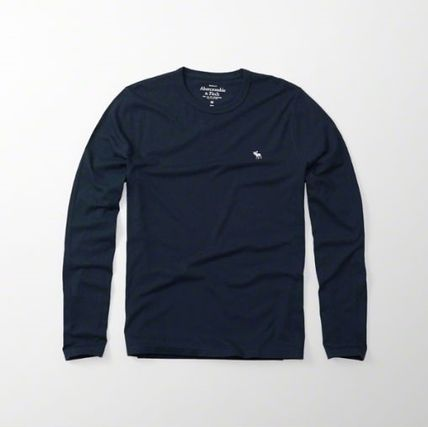 Abercrombie & Fitch Tシャツ・カットソー 本物保証!アバクロAbercrombie&Fitch長袖Tシャツc24