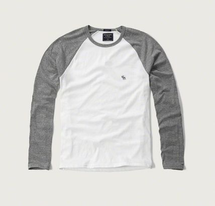 Abercrombie & Fitch Tシャツ・カットソー 本物保証!アバクロAbercrombie&Fitch長袖Tシャツc26