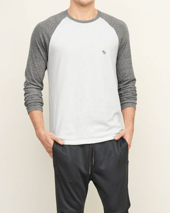 Abercrombie & Fitch Tシャツ・カットソー 本物保証!アバクロAbercrombie&Fitch長袖Tシャツc26(2)