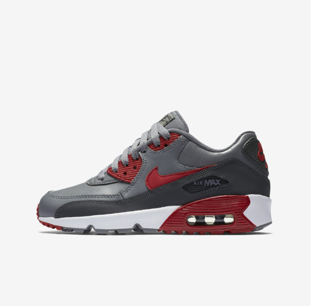 【日本未入荷】NIKE AIR MAX 90 LTR GS - 833412-007