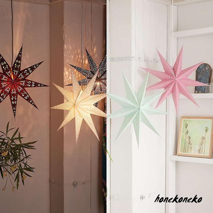 Urban Outfitters star lanterns