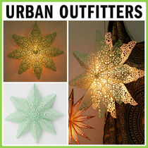 Urban Outfitters(アーバンアウトフィッターズ) 照明 日本未入荷*Urban Outfitters*Cutout Star Paper ランタン照明