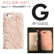 G BY GUESS☆即発☆セール☆FauxファーiPhone6/6Sケース