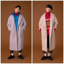 日本未入荷 LUV IS TRUEの (UNISEX)CE OVERSIZED COAT 全2色