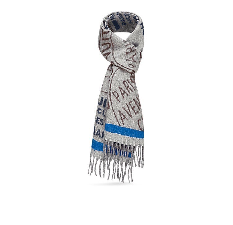 TRUNK STAMPS SCARF ルイヴィトン ストール マフラー 国内発送