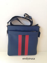 COACH★メンズ★1月新作 CHARLES CROSSBODY F54193*Indigo/Red