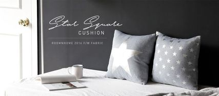 Immediate shipping star square cushion