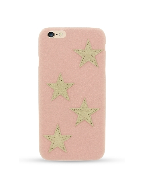 IPHORIA iPhone 7用ケース(Star Patch Case Nude)
