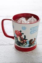 【Anthropologie】 Snowy Salutation Mug