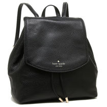 kate spade  レザー small breezy   バックパック2色