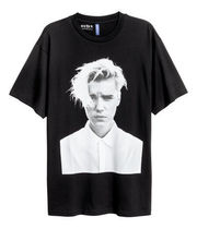FW16 H&M JUSTIN BIEBER PURPOSE TOUR PAINTED TEE 送料無料