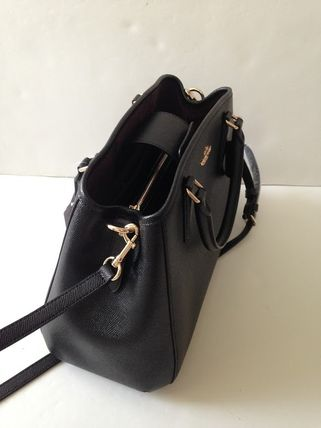 Coach ハンドバッグ COACH★12月新作★SMALL MARGOT 2way F57527*Black/Saddle(11)