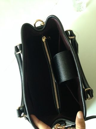 Coach ハンドバッグ COACH★12月新作★SMALL MARGOT 2way F57527*Black/Saddle(12)