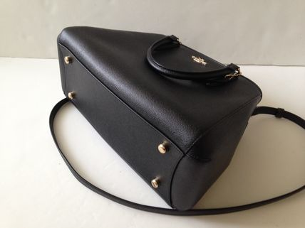 Coach ハンドバッグ COACH★12月新作★SMALL MARGOT 2way F57527*Black/Saddle(13)