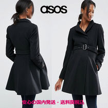 ASOS(エイソス) アウター ASOS Maternity Skater Coat With Funnel Neck♪
