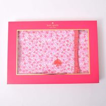 【国内即発】kate spade★LAYETTE REVERSIBLE BLANKET
