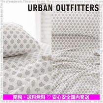 Urban Outfitters☆Plum&Bow Woodblock Blossom フラットシーツ