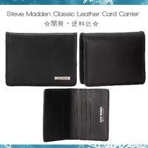 【Steve Madden】Classic Leather カードケース☆関税・送料込