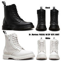 Dr Martens★PASCAL W/ZIP 8EYE BOOT★ジッパー★2色