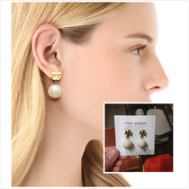 MUST HAVE!Tory Burch★Evie Drop Earring ピアス*ホワイト系