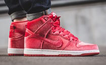 "[NIKE]SB DUNK HIGH PREMIUM ""RED VELVET""【送料込】"
