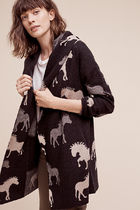 即発! サイズS Anthropologie Dressage Sweater Coat