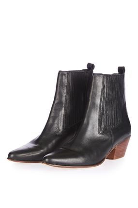 TOPSHOP ショートブーツ・ブーティ 《シンプルウェスタン♪》☆TOPSHOP☆ACE Western Ank Boot(4)