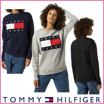 【Tommy Hilfiger】正規品★フラッグ ロゴスウェット3色/追跡付