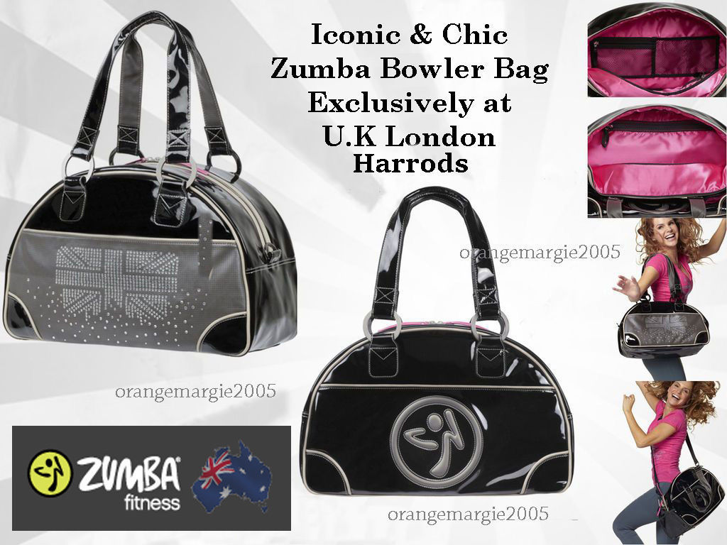 Zumba Tote Bag London Love Bowler U.K Harrods & Convention