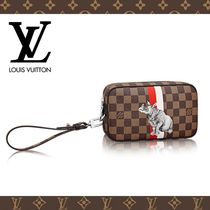 2016-17AW☆LOUIS VUITTON☆ポシェット・ヴォルガ ダミエ