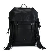 【 GIVENCHY 】 Rider fringed backpack 黒