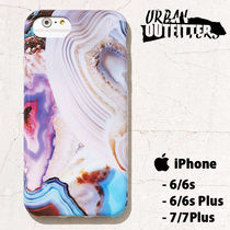 Urban Outfitters☆ 綺麗色めのう柄 iPhoneケース(6/6s/7+Pluis)