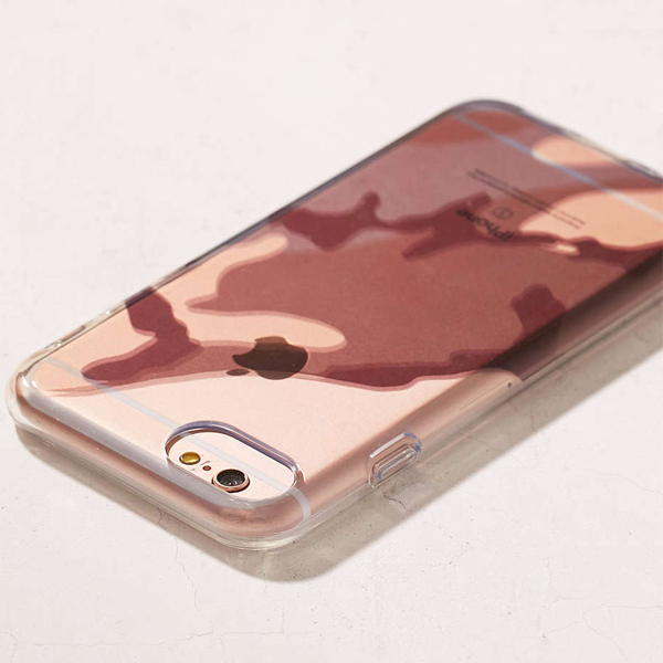 Urban Outfitters☆ クールな迷彩柄 iPhoneケース(6/6s/7)