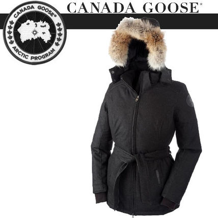 -CANADA GOOSE- レディース MAJELLA Black Heather 即発