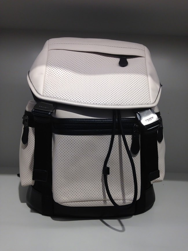 coach leather backpack outlet 7lyl  Coach Backpacks TREK PACK PERFORATED leather COACH mens backpack * 2