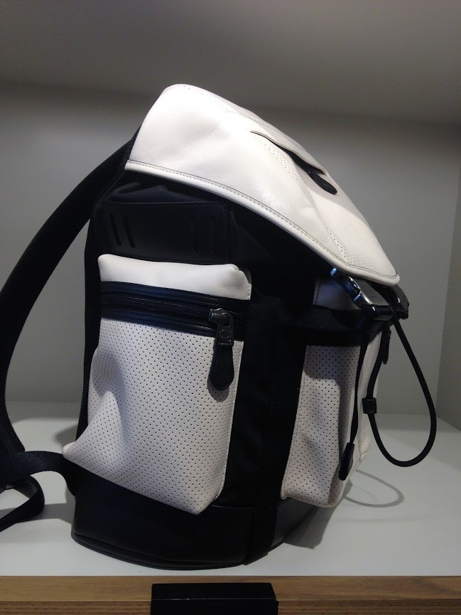coach leather backpack outlet 226w  Coach Backpacks TREK PACK PERFORATED leather COACH mens backpack * 3