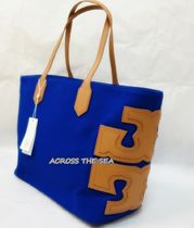 ★TORY BURCH★CANVAS STACKED TOTE