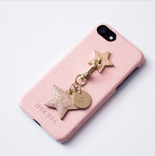 ◆IPHORIA◆ [IPHONE 7] star lining pink case