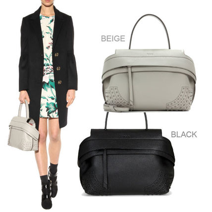 17SSモデル★TOD'S Small Wave Bag Basicな2色♪【関税/送料込】