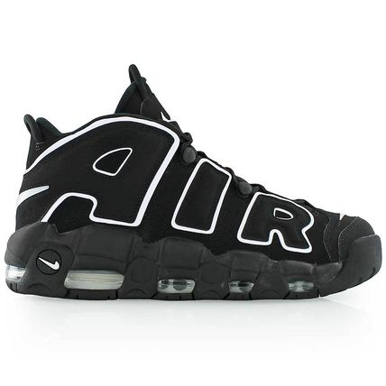 国内未入荷!NIKE AIR MORE UPTEMPO BLACK/WHITE 100%本物
