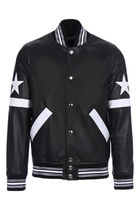 【関税負担】 GIVENCHY 17SS LEATHER BOMBER JACKET