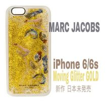 新作★Liquidラメ【送込★MARC JACOBS】iPhone6/s★Goldパッチ