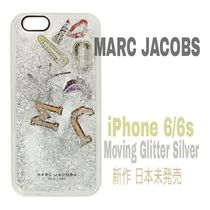 新作★Liquidラメ【送込★MARC JACOBS】iPhone6/s★Silverパッチ
