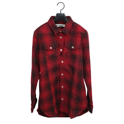 AW16 OFF WHITE off-white SHIRT TARTAN check shirt day