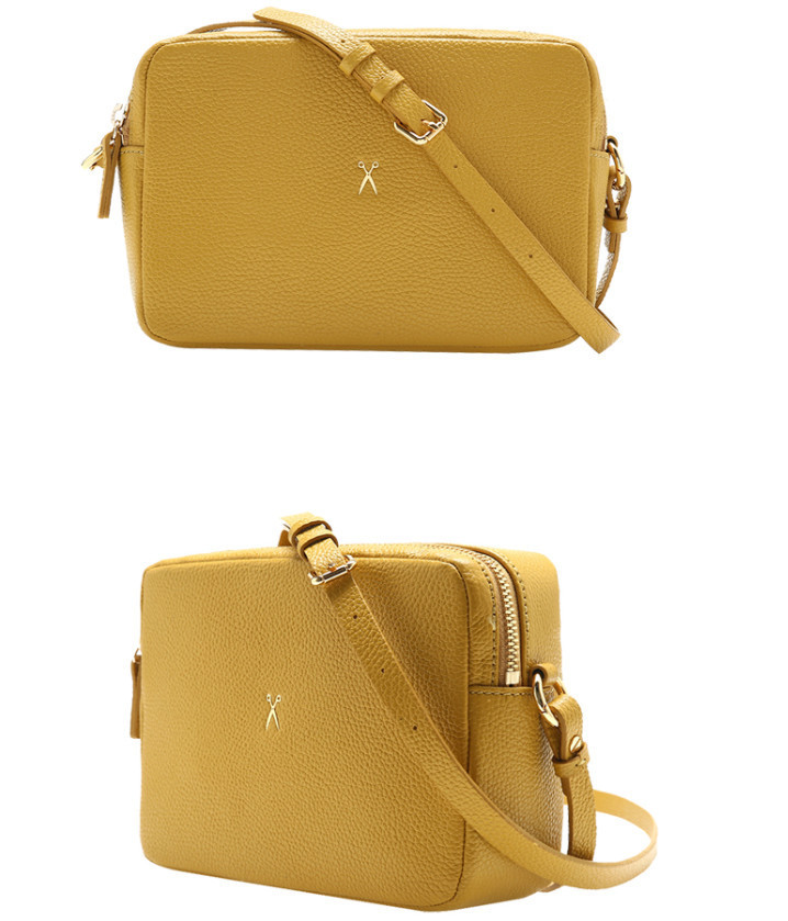 ◆JOSEPH&STACEY◆ OZ Mini Square Bag Mustard